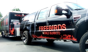 Freeb!rds truck and trailer wrap.
